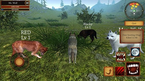 Wolf Simulator Evolution Android Game Image 2