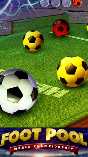 Foot Pool: World Championship Android Game Image 1