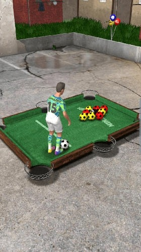 Foot Pool: World Championship Android Game Image 2