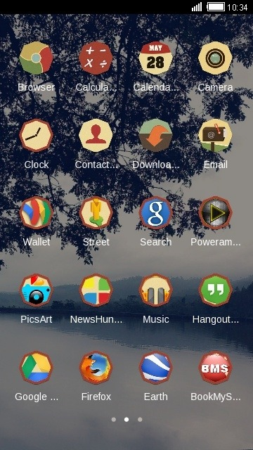 Lake CLauncher Android Theme Image 2