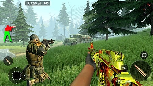 Jungle Counter Attack Android Game Image 4