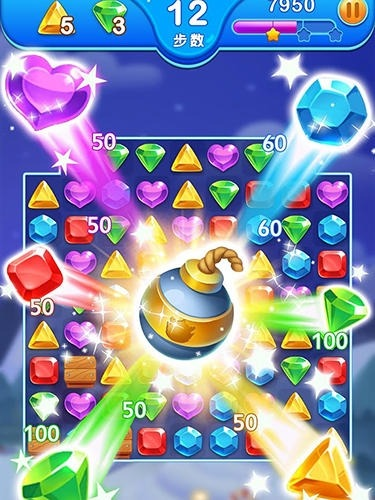 Jewel Blast Dragon: Match 3 Puzzle Android Game Image 2