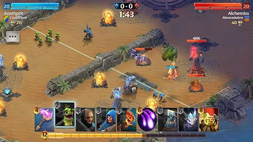 Arcane Citadel: Duel Of Mages Android Game Image 2