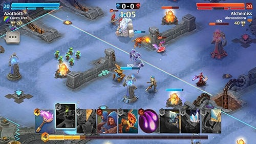 Arcane Citadel: Duel Of Mages Android Game Image 4