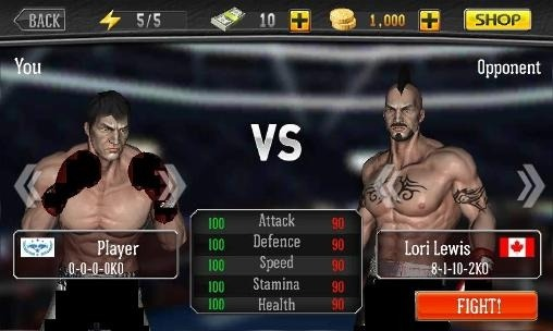 Punch Boxing Android Game Image 2