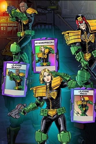 Judge Dredd: Crime Files Android Game Image 3