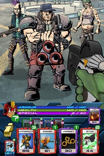 Judge Dredd: Crime Files Android Game Image 4