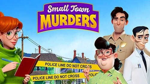 Small Town Murders: Match 3 Android Game Image 1