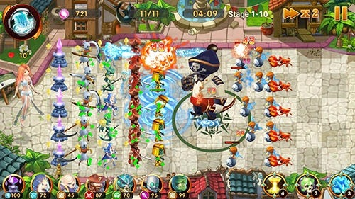 Defender Legend: Hero Champions TD Android Game Image 3