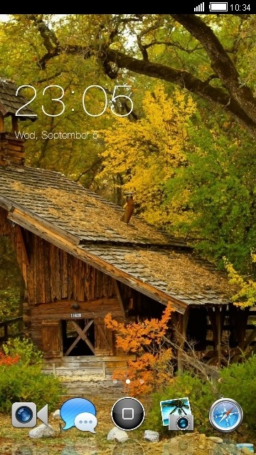 Home CLauncher Android Theme Image 1