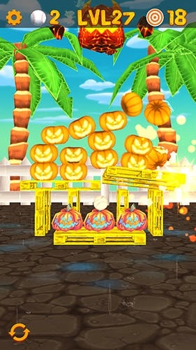 Knockdown The Pumpkins 2 Android Game Image 2