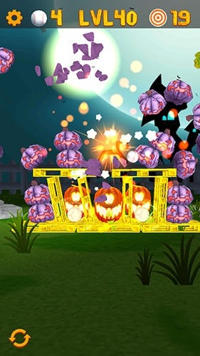Knockdown The Pumpkins 2 Android Game Image 3