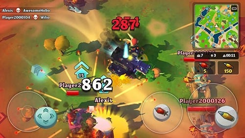 PvPets: Tank Battle Royale Android Game Image 2