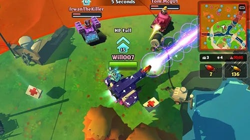 PvPets: Tank Battle Royale Android Game Image 4
