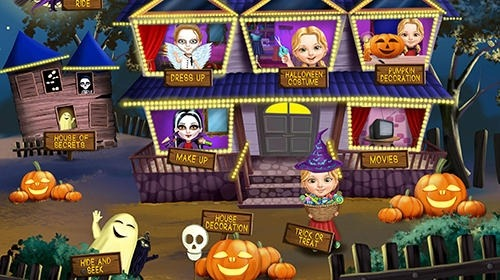 Sweet Baby Girl: Halloween Fun Android Game Image 3