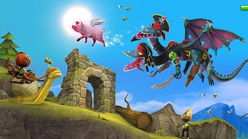 Hungry Dragon Android Game Image 3
