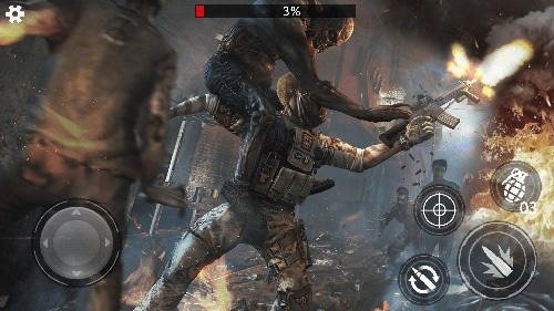 Last Saver: Zombie Hunter Master Android Game Image 2