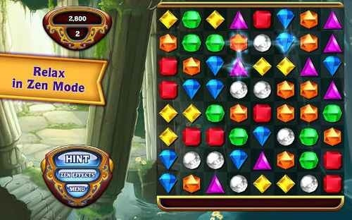 Bejeweled Android Game Image 2