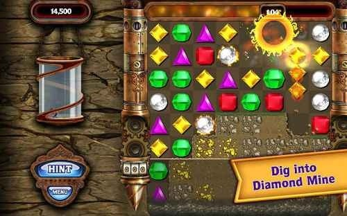 Bejeweled Android Game Image 4