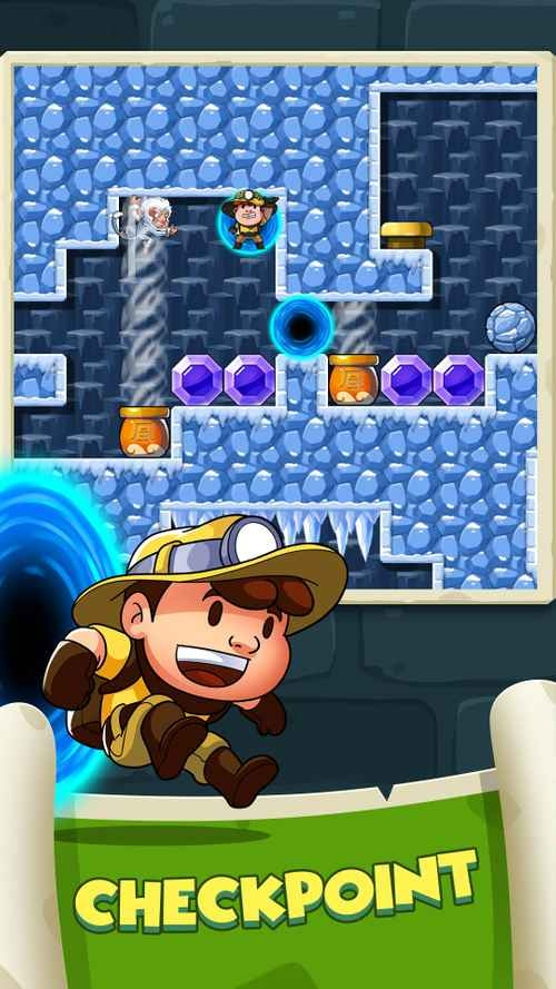 Diamond Quest: Don't Rush! Android Game Image 1