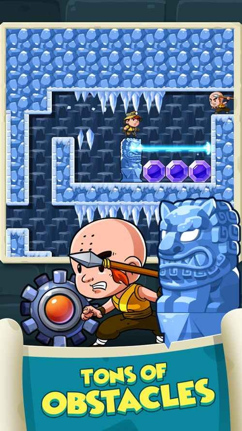 Diamond Quest: Don't Rush! Android Game Image 4