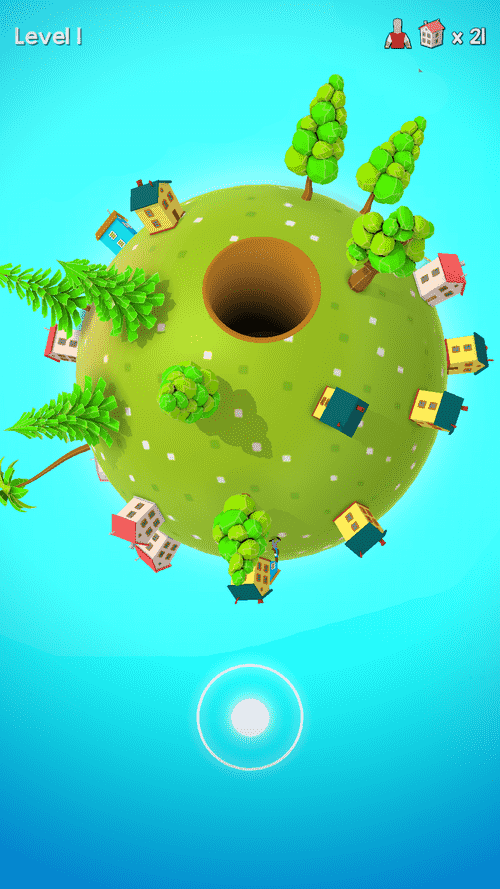 Hole World Android Game Image 2