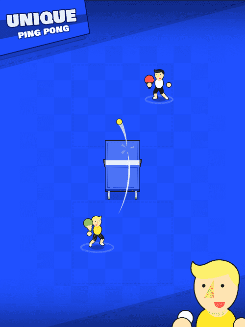Pongfinity - Infinite Ping Pong Android Game Image 1