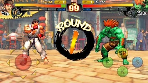 Street Fighter 4: Arena Android Game Image 2