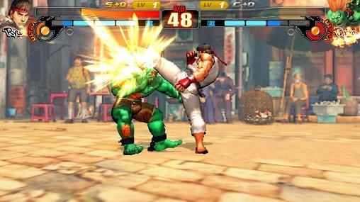 Street Fighter 4: Arena Android Game Image 3