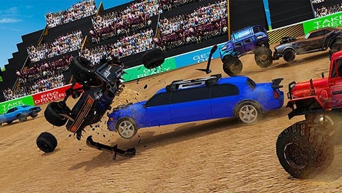 Xtreme Limo: Demolition Derby Android Game Image 2