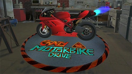 Crazy Motorbike Drive Android Game Image 1