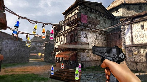 Impossible Bottle Shoot Gun 3D 2017: Expert Mission Android Game Image 2