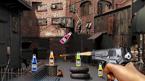 Impossible Bottle Shoot Gun 3D 2017: Expert Mission Android Game Image 4