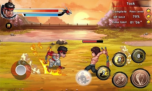 King Of Kungfu 2: Street Clash Android Game Image 2