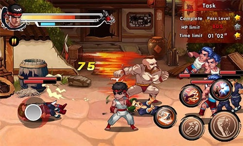 King Of Kungfu 2: Street Clash Android Game Image 3