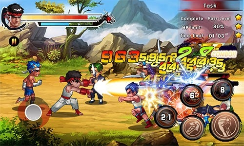 King Of Kungfu 2: Street Clash Android Game Image 4