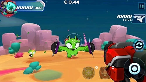 Galaxy Gunner: Adventure Android Game Image 3