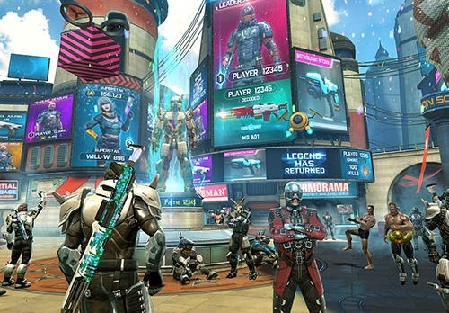 Shadowgun Legends Android Game Image 2