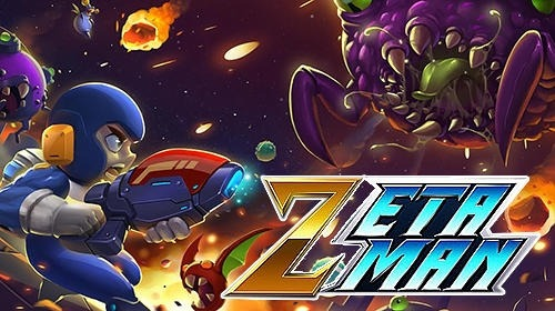Zetta Man: Metal Shooter Hero Android Game Image 1