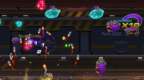 Zetta Man: Metal Shooter Hero Android Game Image 2