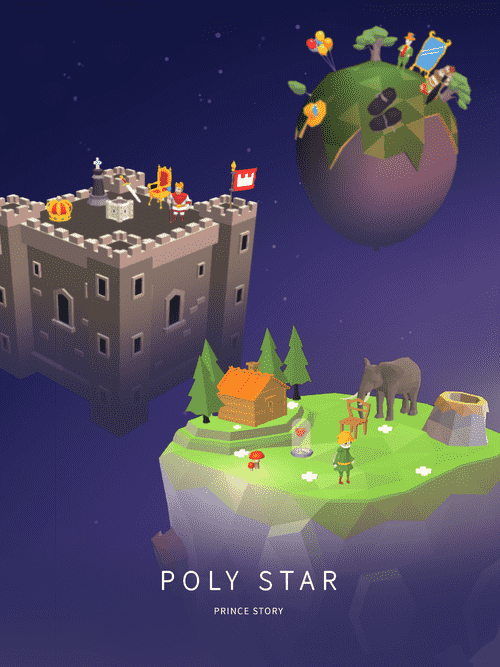 Poly Star : Prince Story Android Game Image 2