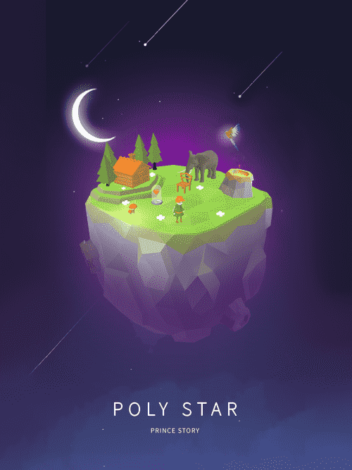 Poly Star : Prince Story Android Game Image 3