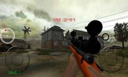 Zombie Sniper Android Game Image 2