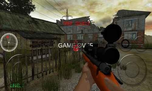 Zombie Sniper Android Game Image 4