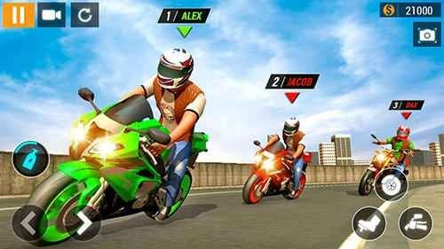City Motorbike Racing Android Game Image 2
