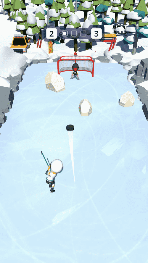 Happy Hockey! Android Game Image 1
