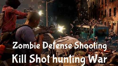 Zombie Defense Shooting Android Game Image 1
