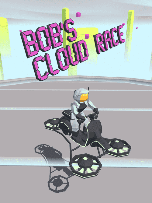 Bob's Cloud Race: Casual Low Poly Game Android Game Image 1