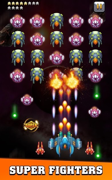 Galaxy Invader: Infinite Shooting 2020 Android Game Image 1