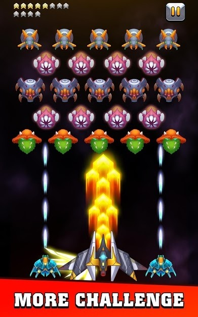 Galaxy Invader: Infinite Shooting 2020 Android Game Image 3